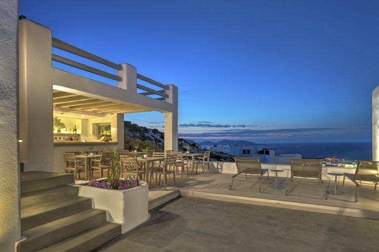 Exterior Dining Room - Hotel Papadakis - Naoussa