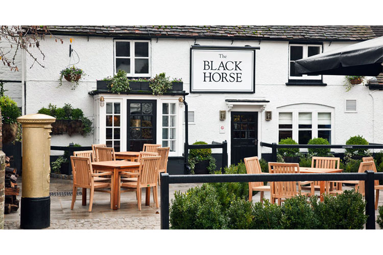 Exterior Dining Room - The Black Horse - Fulmer