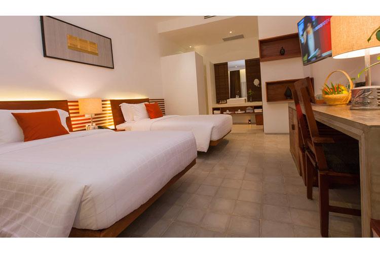 Twin Deluxe Bungalow - Lynnaya Urban River Resort - Siem Reap