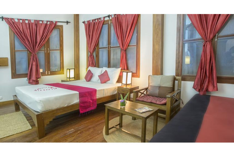 Double Room - Maisons Wat Kor - Battambang