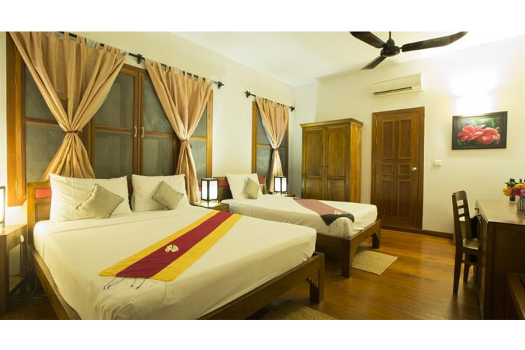 Triple Room - Maisons Wat Kor - Battambang