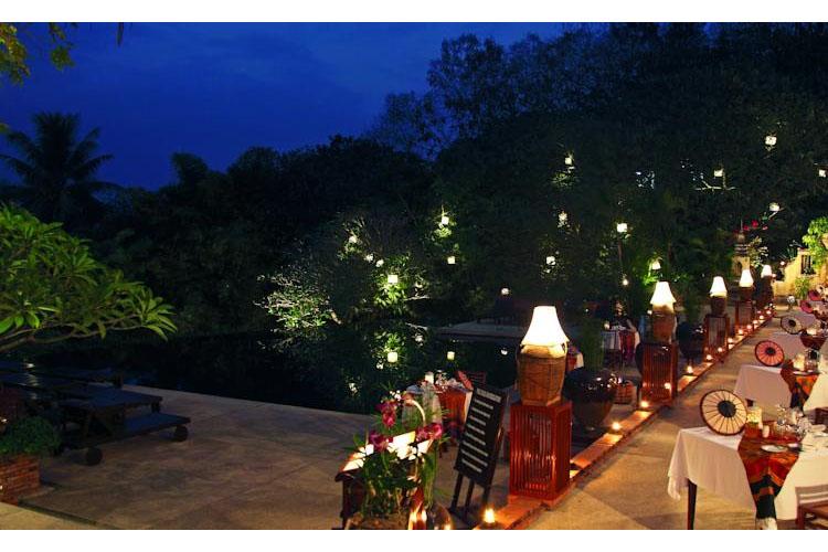 Exterior Dining Room - Belmond la Residence Phou Vao - Luang Prabang