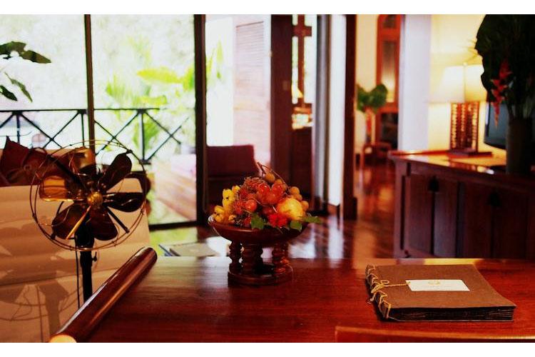 Reception - Belmond la Residence Phou Vao - Luang Prabang