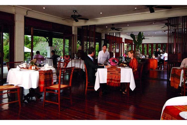 Restaurant - Belmond la Residence Phou Vao - Luang Prabang