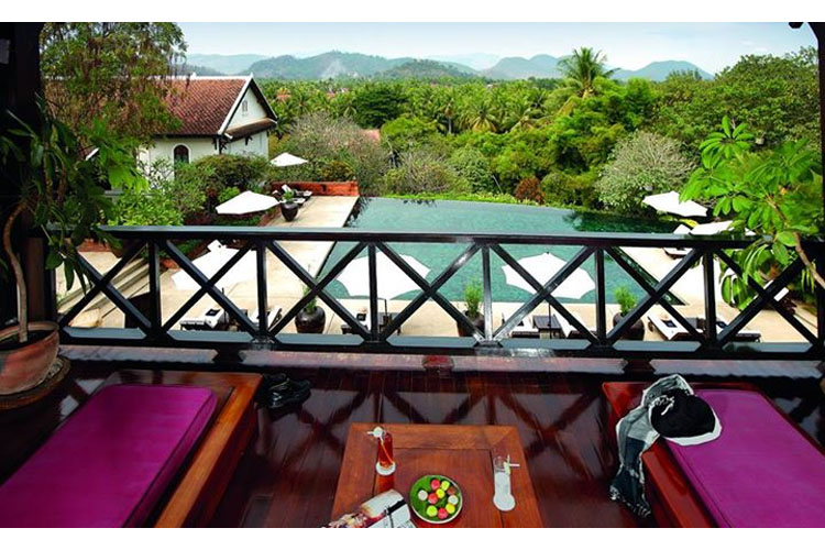 Balcony - Belmond la Residence Phou Vao - Luang Prabang
