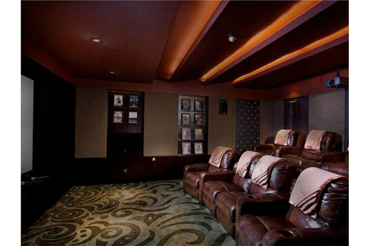 Cinema Room - The Edge Bali - Uluwatu