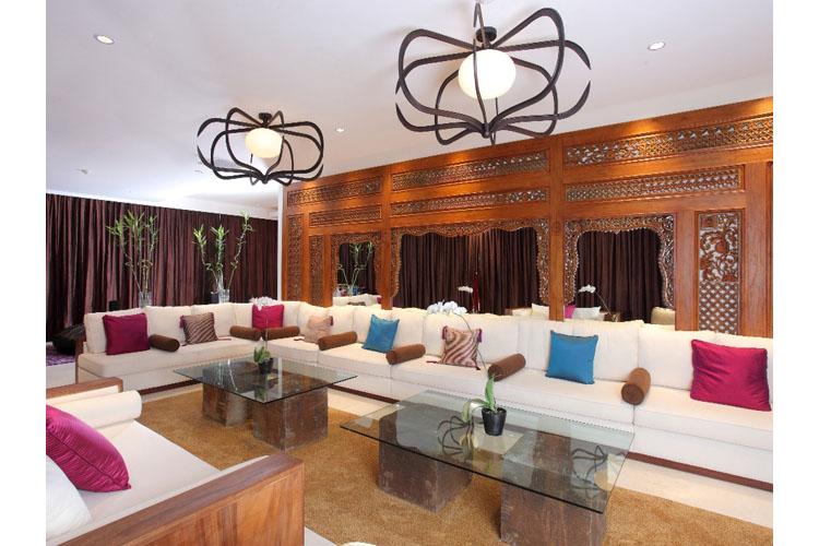 The Mood Villa Living Room - The Edge Bali - Uluwatu