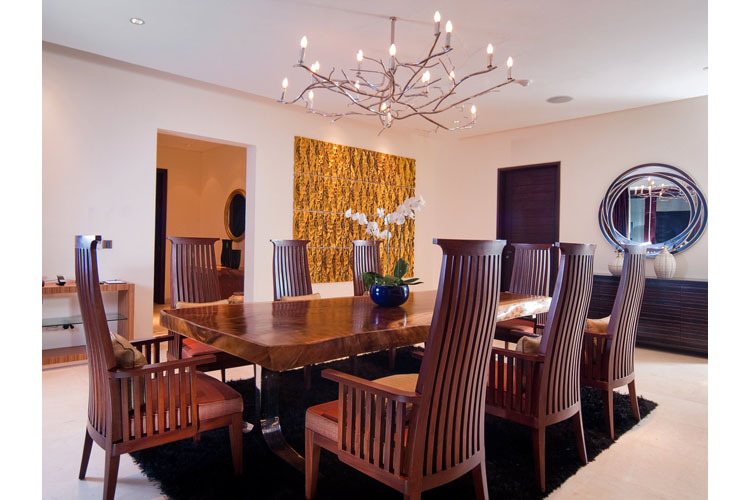 The Mood Villa Dining Room - The Edge Bali - Uluwatu