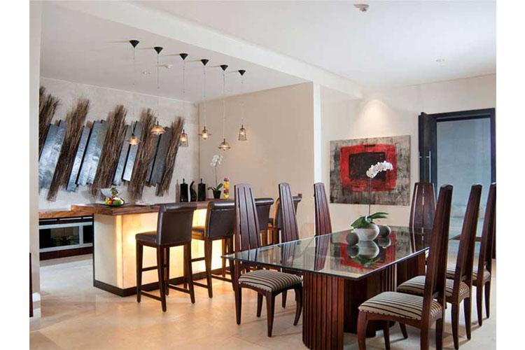 The Cliff Villa Dining Room - The Edge Bali - Uluwatu