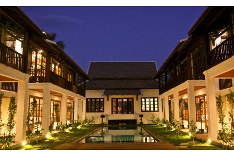 Facade - Le Sen Boutique Hotel - Luang Prabang