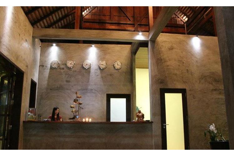 Reception - Le Sen Boutique Hotel - Luang Prabang