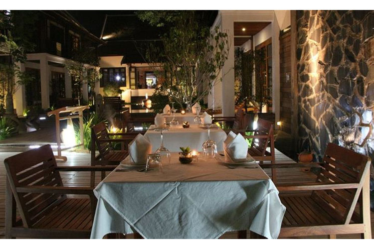 Dining Room - Le Sen Boutique Hotel - Luang Prabang