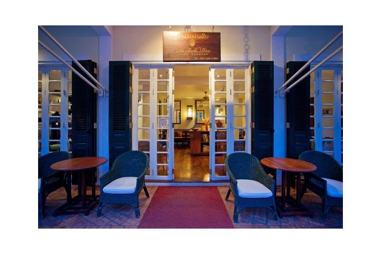 Entrance - The BelleRive Boutique Hotel - Luang Prabang