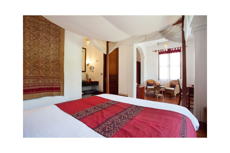 Deluxe Suite - The BelleRive Boutique Hotel - Luang Prabang
