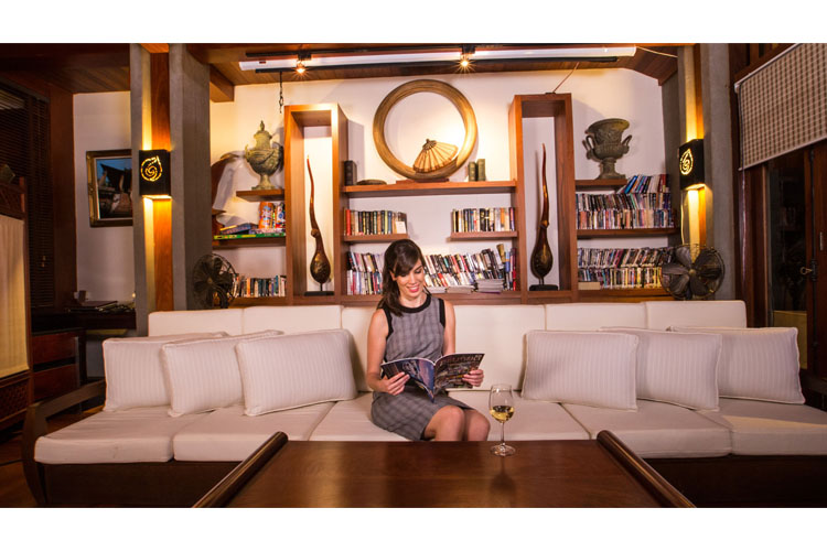 Lounge - Salana Boutique Hotel - Vientiane