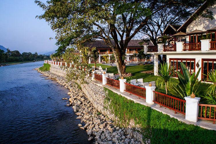 Exterior - Riverside Boutique Hotel - Vang Vieng