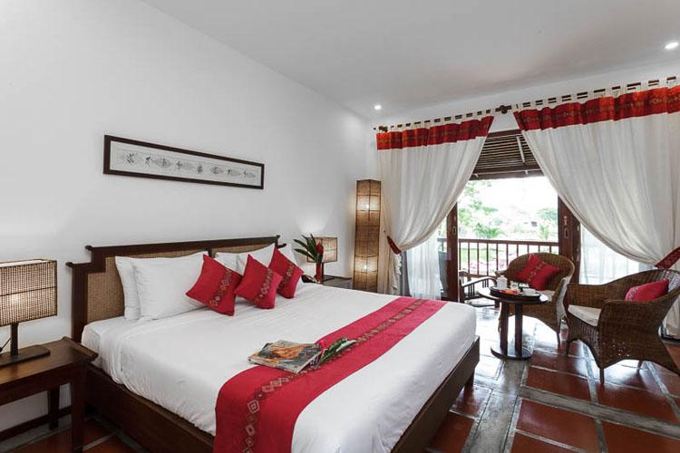 Deluxe Rooms - Lao Loum style - Riverside Boutique Hotel - Vang Vieng