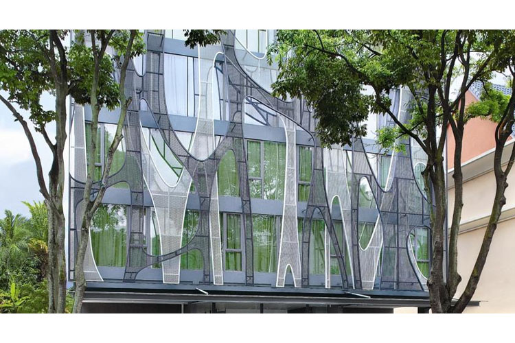 Facade - The Forest by Wangz - SINGAPORE
