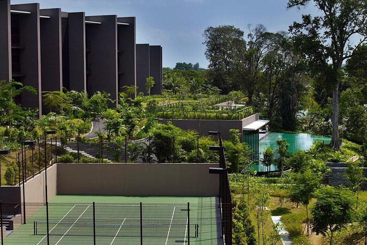 Exterior - The Club at Capella Singapore - SINGAPORE