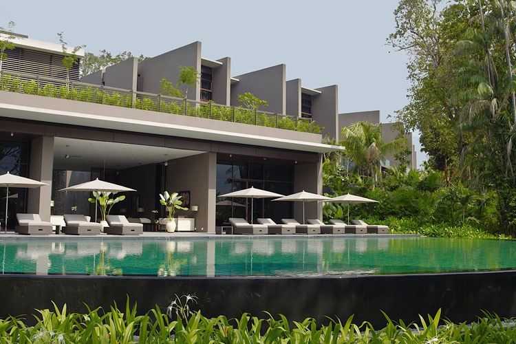 Pool - The Club at Capella Singapore - SINGAPORE
