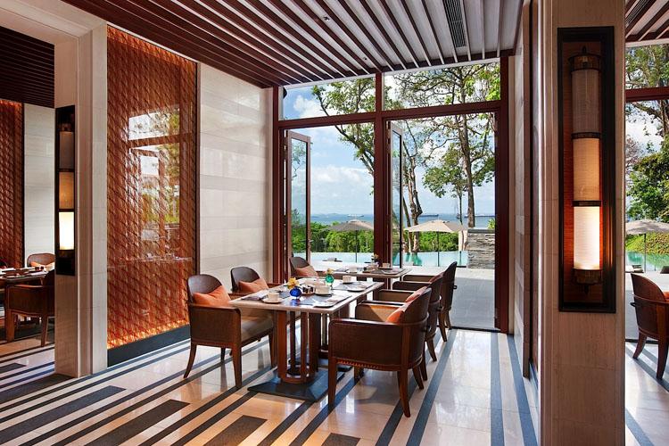 Dining Room - The Club at Capella Singapore - SINGAPORE