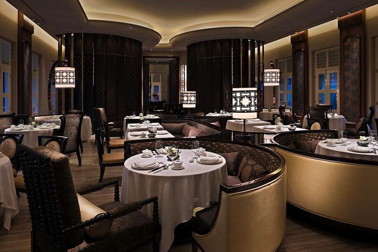 Restaurant - The Club at Capella Singapore - SINGAPORE