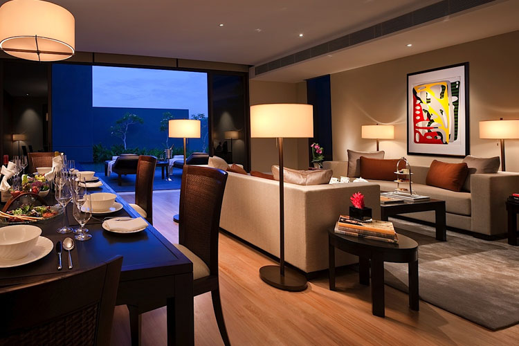 Manor Living Area - The Club at Capella Singapore - SINGAPORE