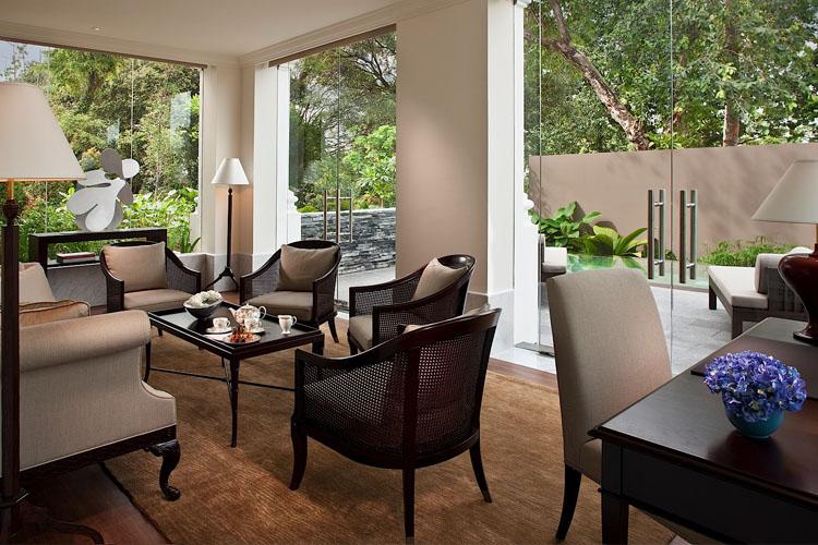 Manor Living Room - The Club at Capella Singapore - SINGAPORE