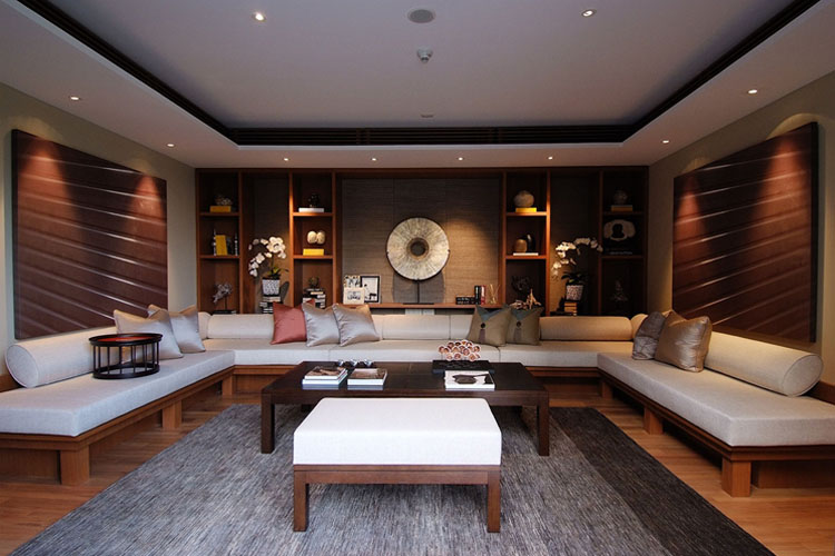 Manor Family Lounge - The Club at Capella Singapore - SINGAPORE