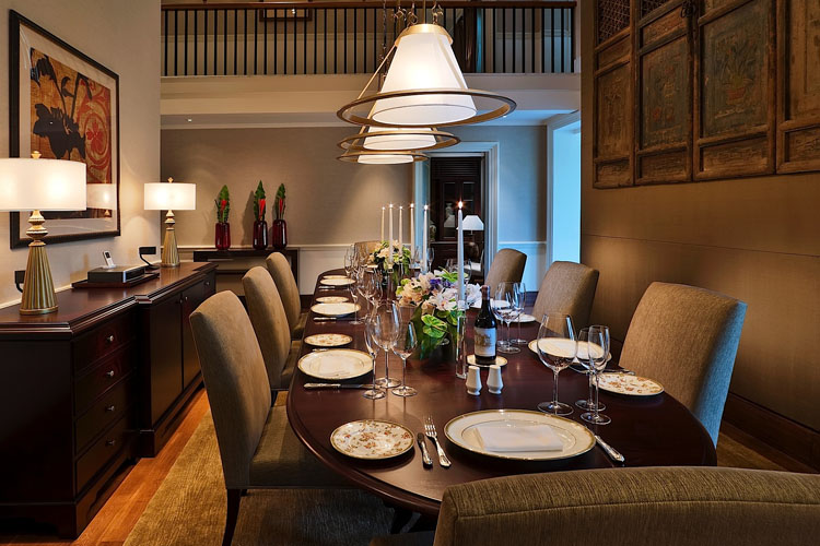 Manor Dining Room - The Club at Capella Singapore - SINGAPORE