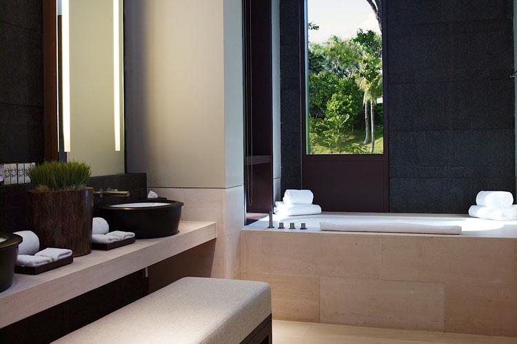 Bathroom - The Club at Capella Singapore - SINGAPORE