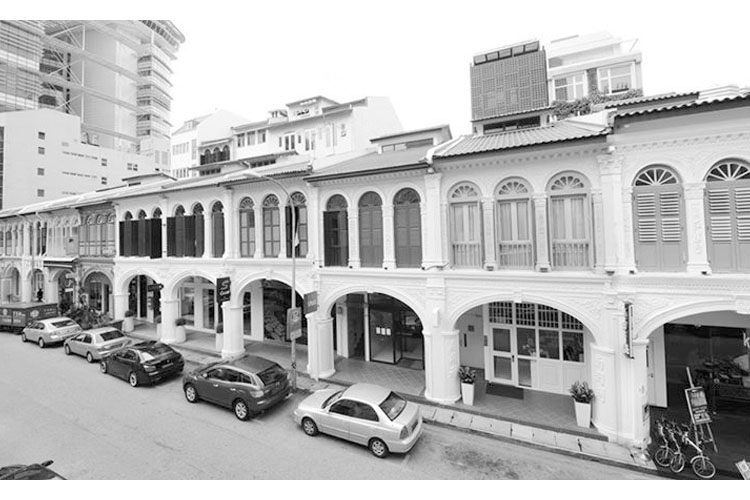 Facade - Hotel Adonis - SINGAPORE
