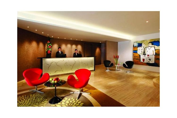 Reception - Wangz Hotel - SINGAPORE