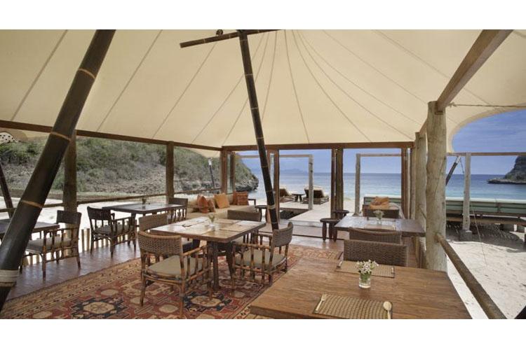 Tenda Restaurant - Jeeva Beloam Beach Camp - Lombok Island