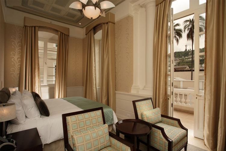 Casa gangotena a boutique hotel in quito for Design hotel quito