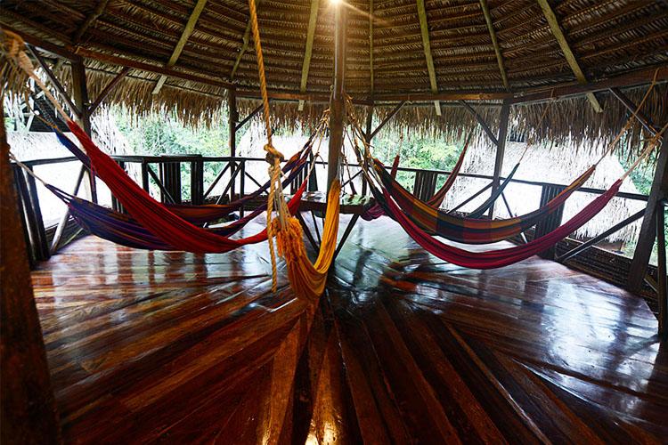 Hammock Room - Jamu Lodge - Puerto Montúfar