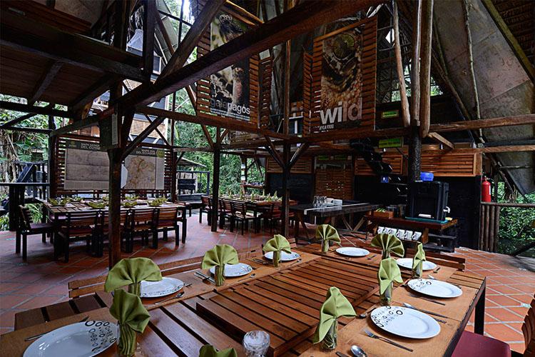 Restaurant - Jamu Lodge - Puerto Montúfar