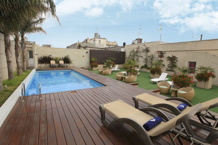 Pool - Don Boutique Hotel Montevideo - Montevideo