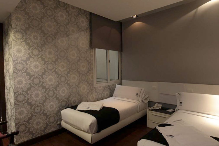 Standard Twin Room - Don Boutique Hotel Montevideo - Montevideo