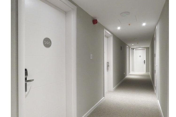 Corridor - Smart Hotel Montevideo - Montevideo