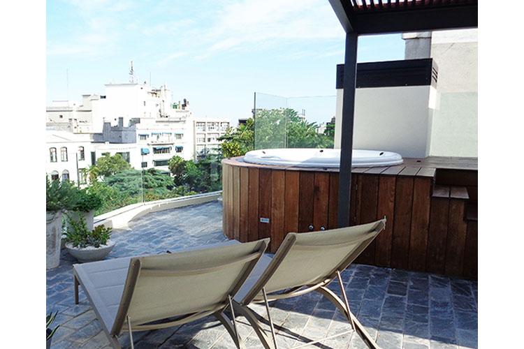 Terrace - Alma Histórica Boutique Hotel - Montevideo