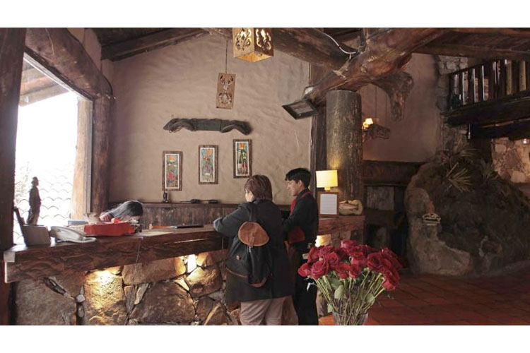 Reception - Hosteria dos Chorreras - Cuenca