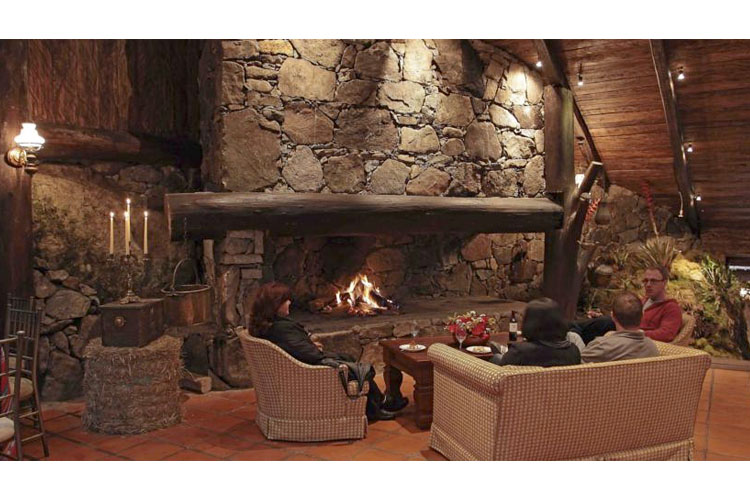 Lounge - Hosteria dos Chorreras - Cuenca