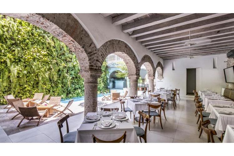 Exterior Dining Room - Tcherassi Hotel + Spa - Cartagena