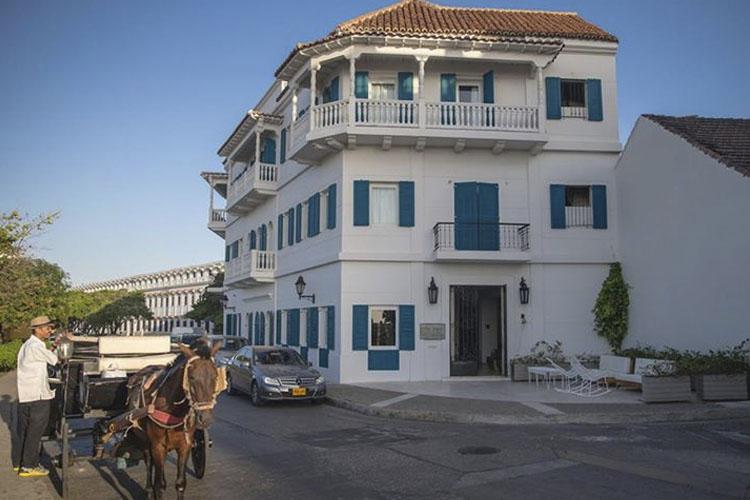 Facade - Hotel Boutique Bóvedas de Santa Clara - Cartagena