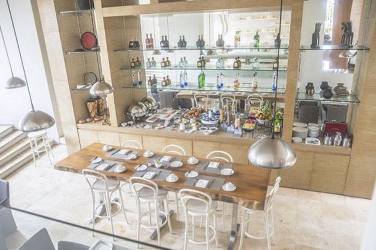 Dining Room - Hotel Boutique Bóvedas de Santa Clara - Cartagena