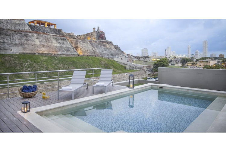 Pool - San Lázaro Art Style Hotel - Cartagena