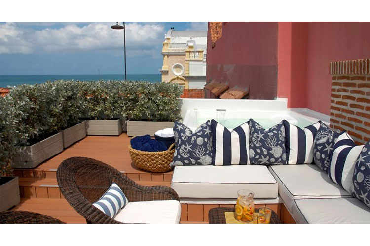 Terrace - Hotel Casa Don Sancho - Cartagena