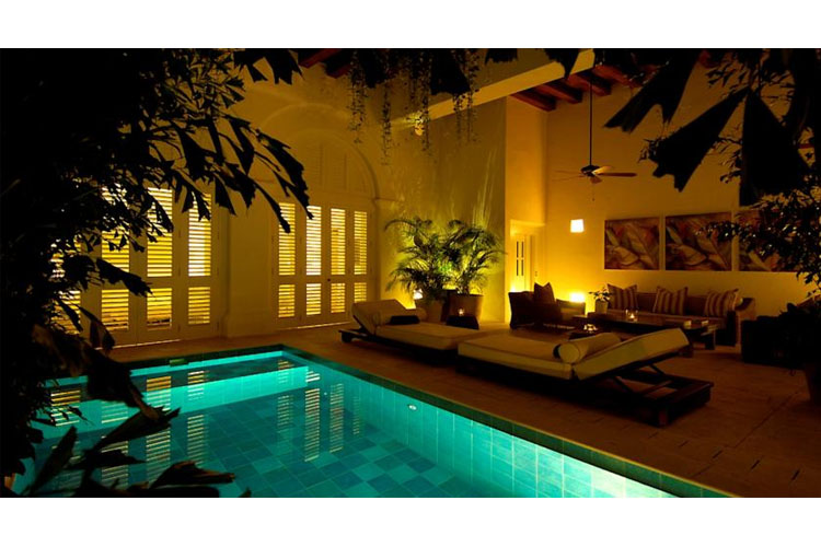 Pool - Hotel Casa Don Sancho - Cartagena