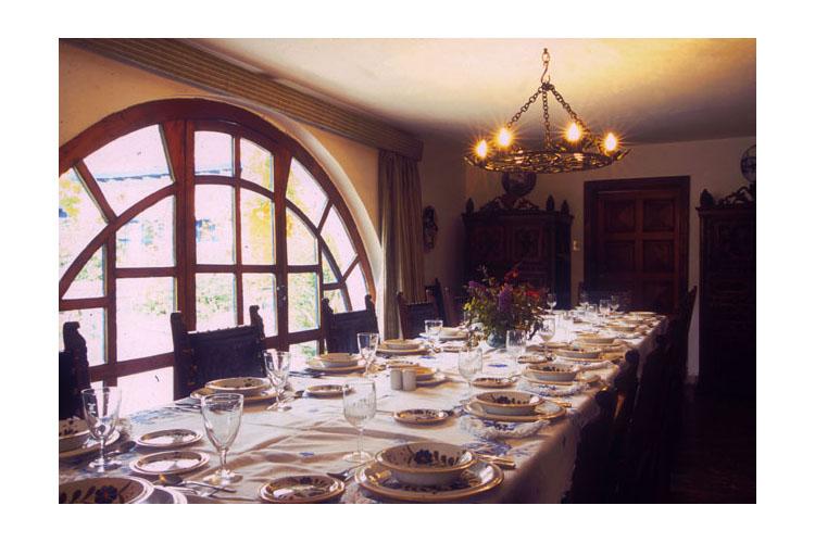 Dining Room - Hacienda Zuleta - Comuna Zuleta